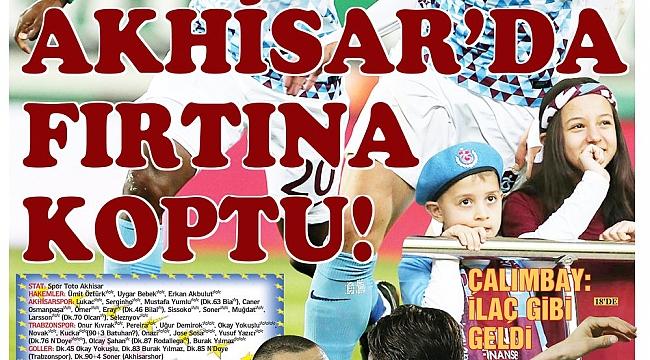 Trabzon yerel basını galibiyeti nasıl gördü