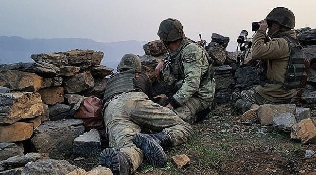 Ağrı'da 8 terörist etkisiz