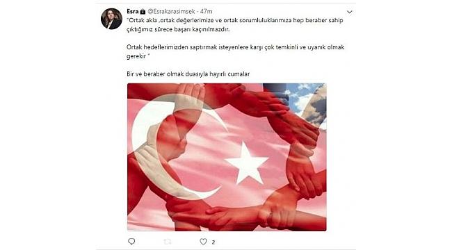 Mehmet Şimşek'in eşinden dikkat çeken mesajlar
