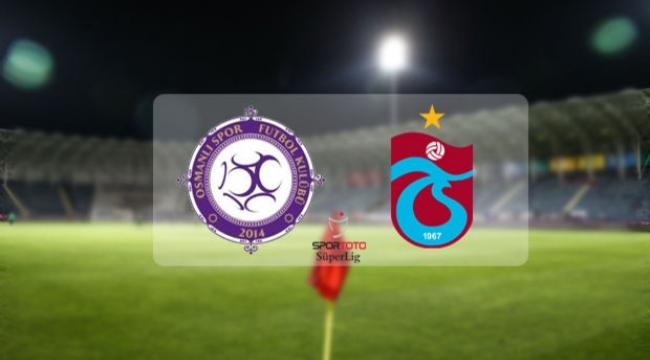 Osmanlıspor-3 Trabzonspor-3