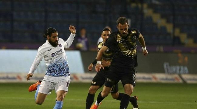 Osmanlıspor - Trabzonspor maçında yılın fair play hareketi