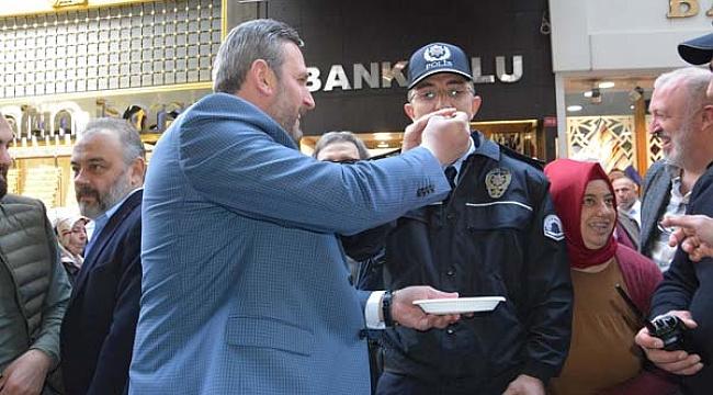 Trabzon'da soygun haberine giden polise sürpriz