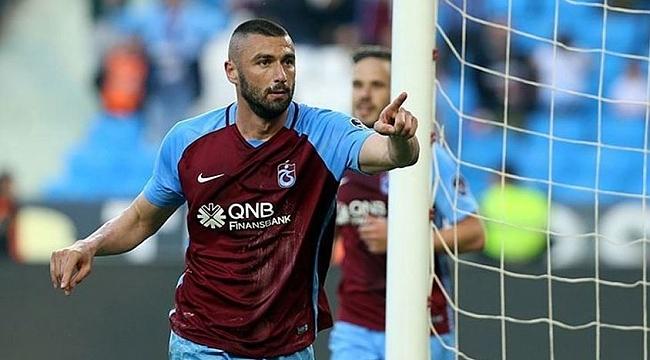 Trabzonspor'a Burak ve Sosa'dan iyi haber