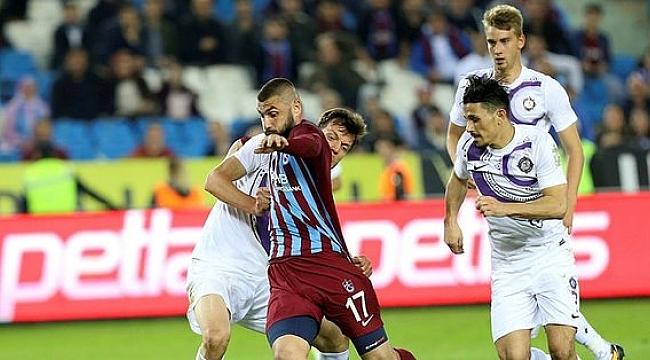 Trabzonspor Osmanlıspor'la karşılaşacak