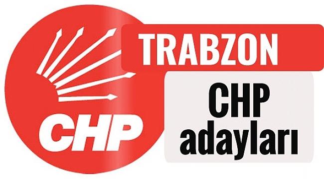 CHP Trabzon milletvekili adayları kimler