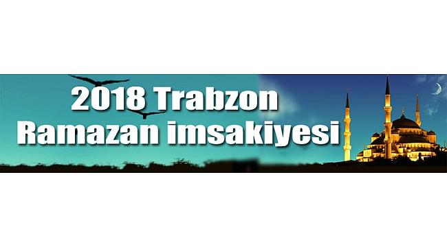 Trabzon'da ilk iftar saat kaçta?
