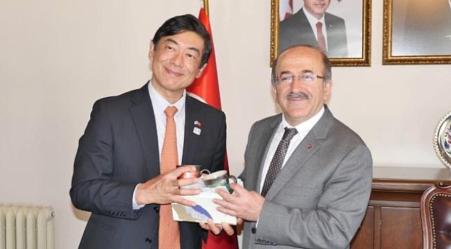 Japon büyükelçi Trabzon'da