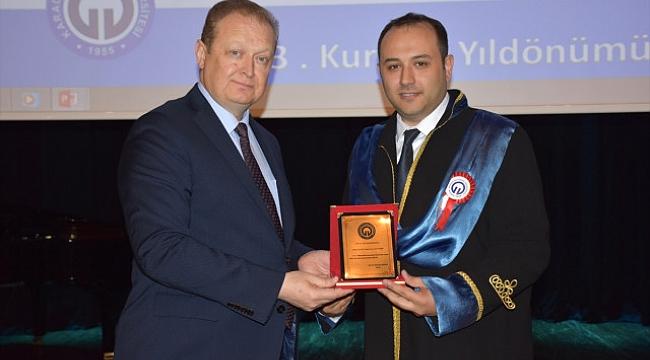 KTÜ'nün 63. kuruluş yılı kutlandı