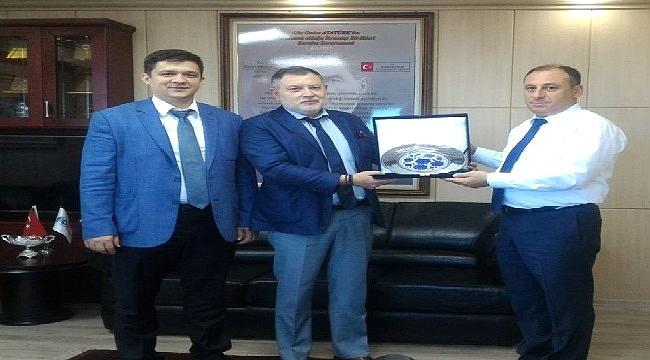 Rusya'nın Trabzon Başkonsolosu'ndan DKIB'e ziyaret