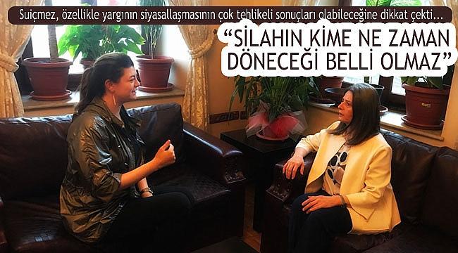Trabzon Baro Başkanı Suiçmez: Siyasiler eşit propaganda yapamıyor