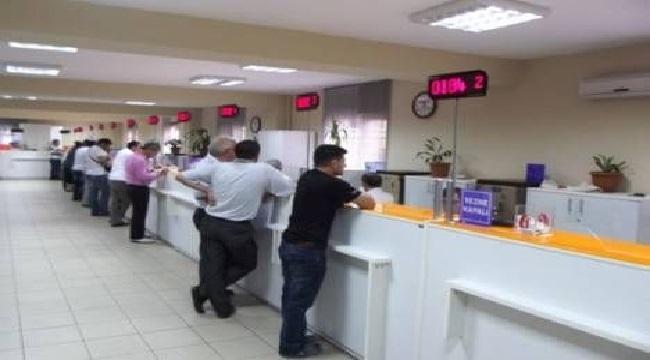 Trabzon'da vergi daireleri hafta sonu açık