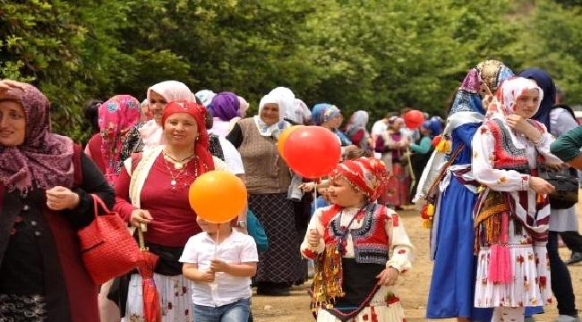 Trabzon'da yayla göçü şenliği düzenlendi