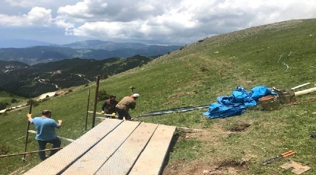 Zigana Dağı'na çığ kontrol tesisi yapılıyor