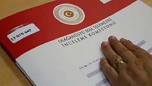 OHAL sonrası yeni düzenleme komisyonda kabul edildi