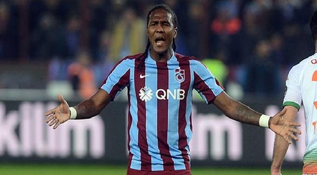 Trabzonspor'da Hugo Rodallega direkten döndü