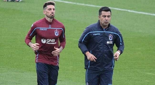 Trabzonspor'da Sosa saha çalışmalarına başladı