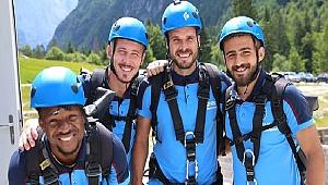 Trabzonspor, Slovenya kampında stres attı