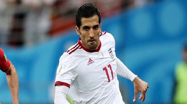 Trabzonspor, Vahid Amiri ile sözleşme imzaladı