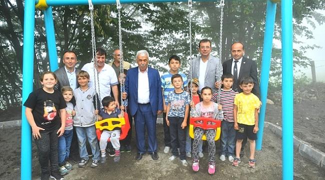 Beylikdüzü'nden Düzköy Belediyesi'ne Gençlik Parkı