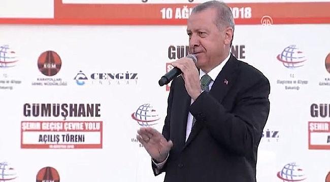 Erdoğan: Saldırılara rağmen büyüyeceğiz