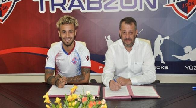 Hekimoğlu Trabzon FK, Mertcan Çam'ı kadrosuna kattı