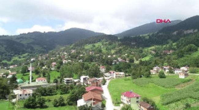 Trabzon'da vatandaşların su çilesi