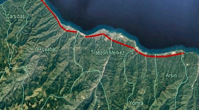 Trabzon için 50 km'lik tüp geçit projesi
