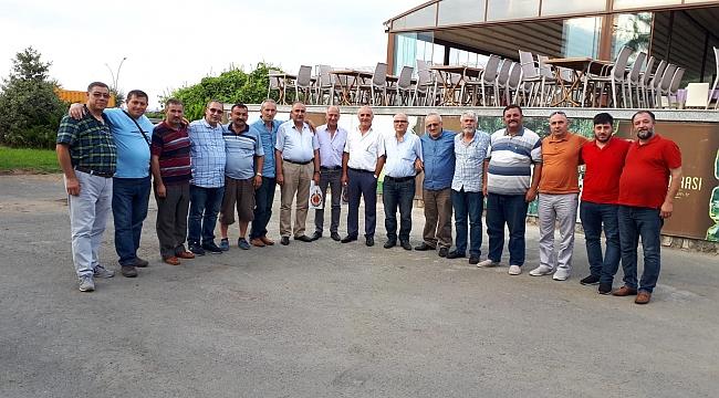 Askerlik arkadaşları 30 sene sonra Trabzon'da buluştu