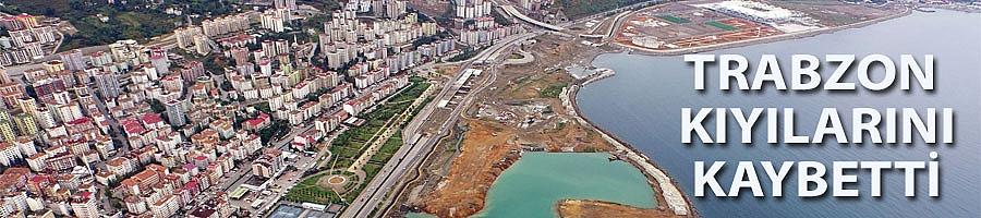 Trabzon'da doğal plajlar yok oluyor