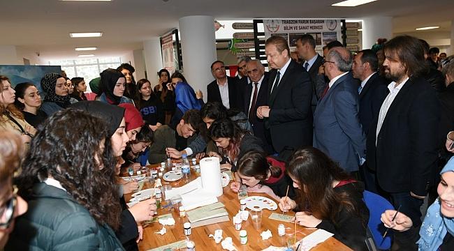 Trabzon'da bilim sanat günleri
