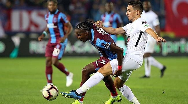 Trabzon'da golsüz beraberlik