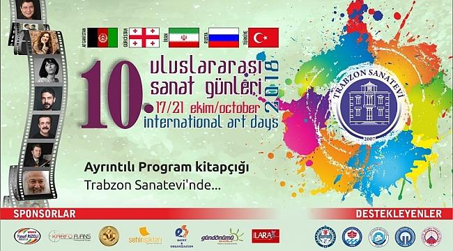 Trabzon'da sanat günleri başlıyor