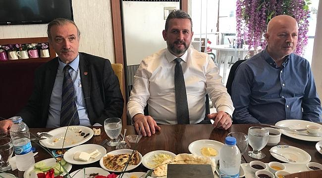 Yazıcı, Ortahisar Belediye Başkanlığı için adaylığını açıkladı