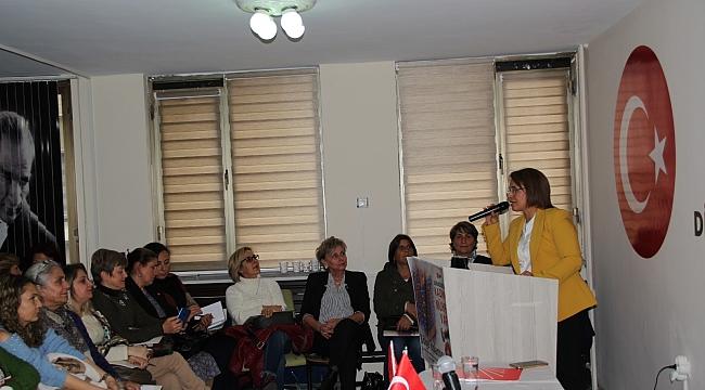 CHP Kadın Kolları Genel Başkanı Trabzon'da