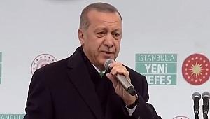 Erdoğan'dan Gezi Parkı olaylarına gönderme