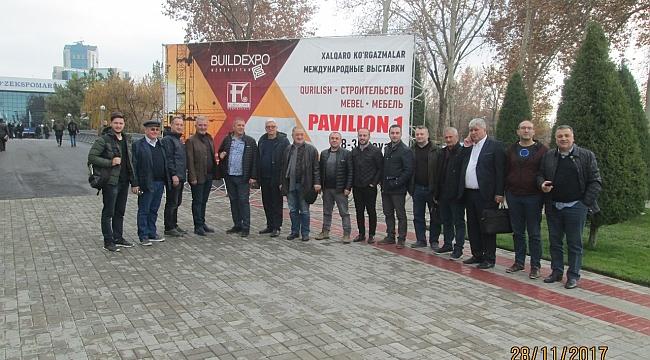 Karadenizli işadamları Özbekistan pazarında…
