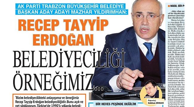 Mazhar Yıldırımhan: Trabzon yaşanılabilir bir kent olsun