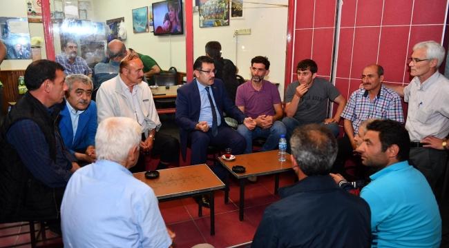 Ortahisar Belediye Başkanı Genç sahaya indi