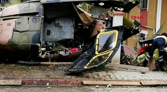 Samandıra'da askeri helikopter düştü: 4 şehit 1 yaralı