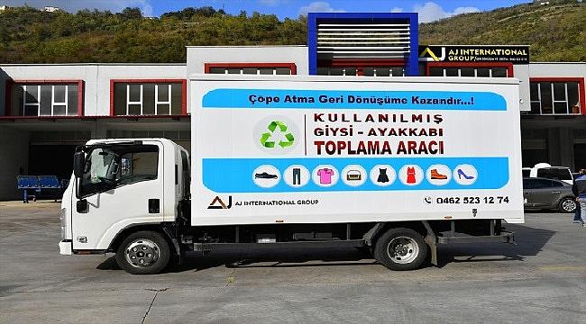 Trabzon'da giysi ve ayakkabılar geri dönüştürülecek
