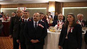 Trabzon'da KKTC'nin kuruluşunun 35.yıl dönümüne özel resepsiyon düzenlendi