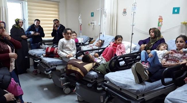 Vakfıkebir'de 42 öğrenci okulda zehirlendi