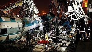 Ankara'da tren kazası; ölü ve yaralılar var!