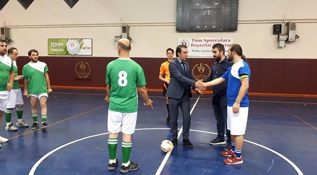 Mehmet Tan Salon Futbolu Turnuvası Başladı