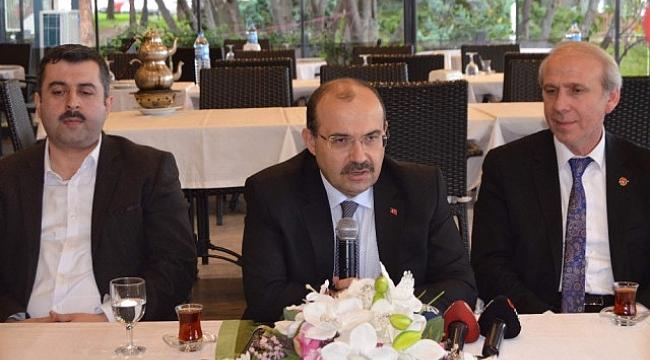 Vali Ustaoğlu, asayiş terör ve turizme dikkat çekti