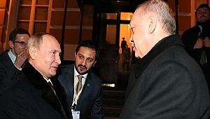 Putin, Erdoğan'ı böyle uğurladı