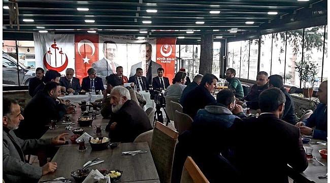 Büyük Birlik Trabzon adaylarını tanıttı