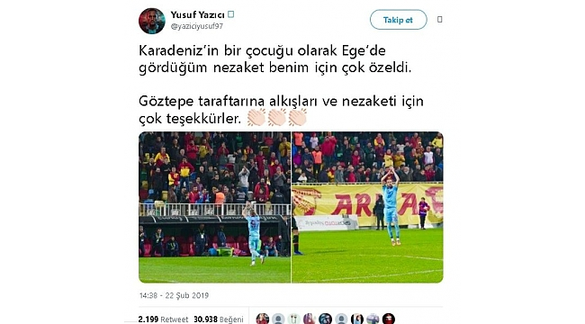 Sen misin Trabzonspor'u alkışlayan!
