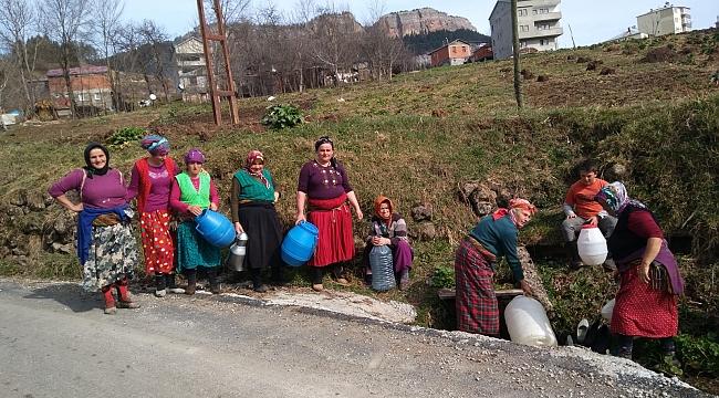Trabzon'da bu ilçede 15 gündür su YOK