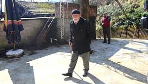 Devlet baba Trabzon'da gözünü dört açmış